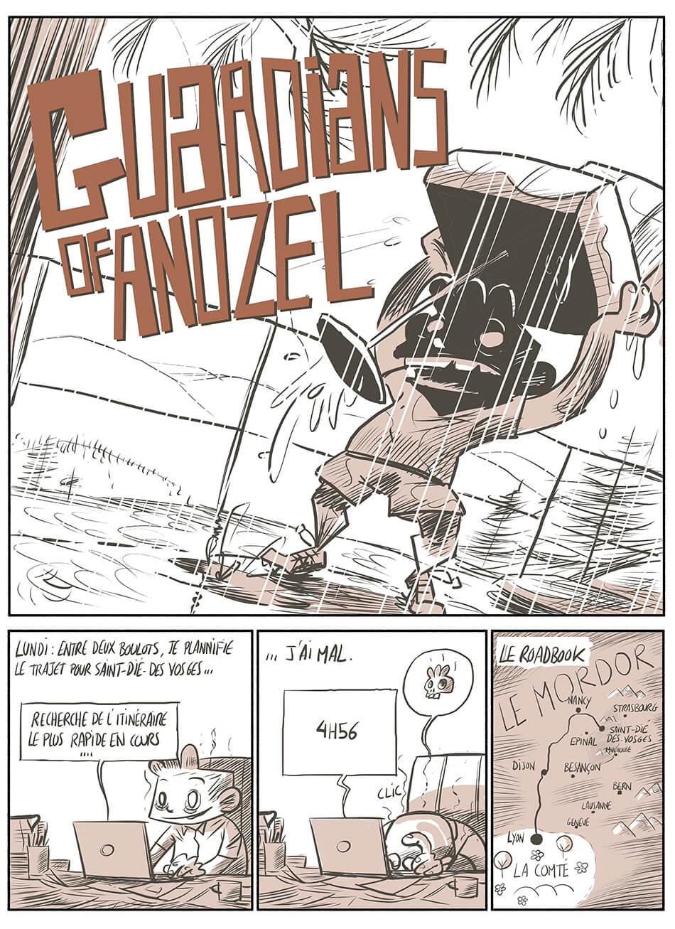 des bosses et des bulles - Guardians of Anozel