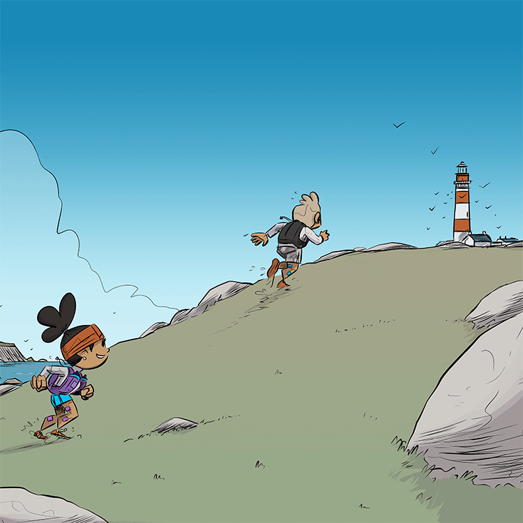 des bosses et des bulles - Trail en Bretagne