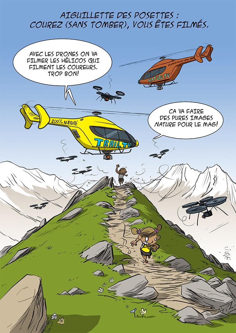 des bosses et des bulles - Marathon du Mont Blanc 2015