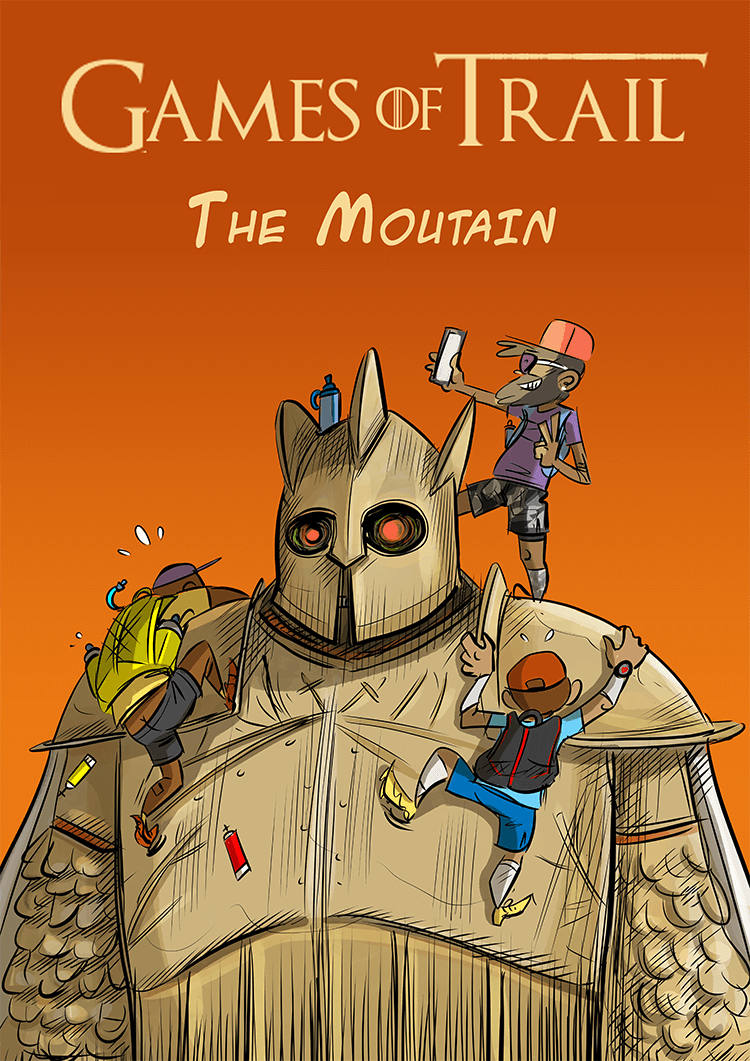 des bosses et des bulles - The Mountain