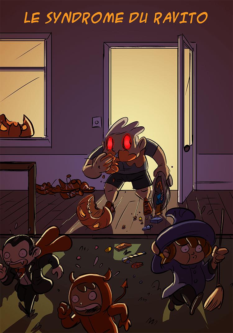 des bosses et des bulles - Happy Halloween