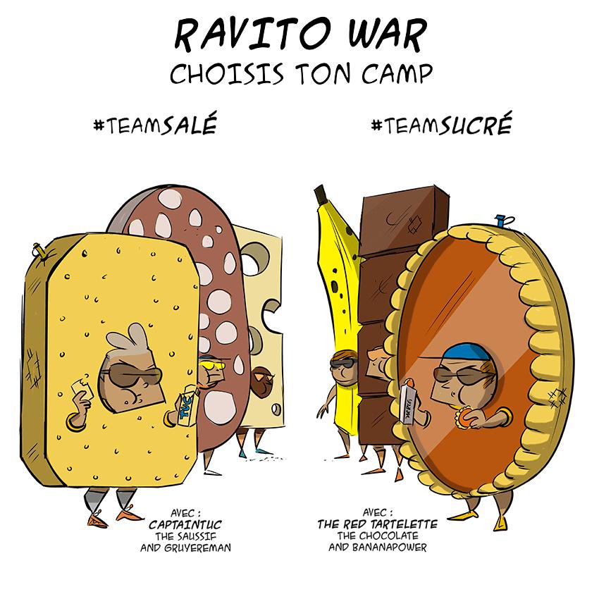 des bosses et des bulles - Ravito war