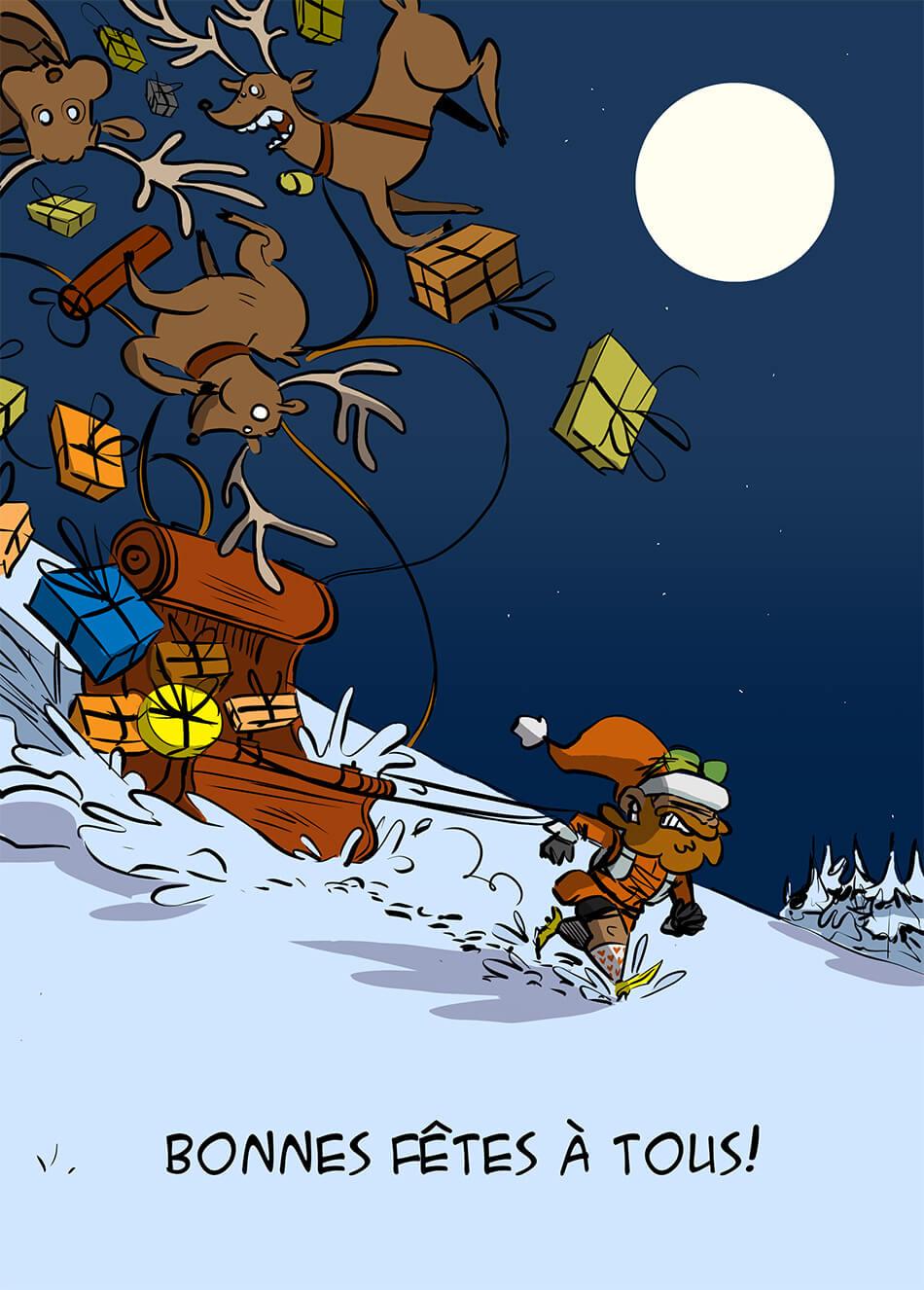 des bosses et des bulles - Bonnes fêtes de Noël !!!