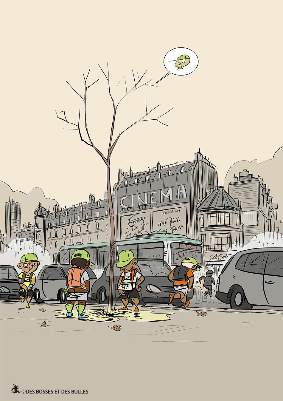 des bosses et des bulles - Chienne de vie