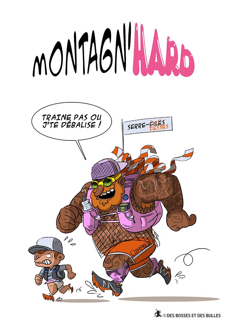 des bosses et des bulles - Montagn'Hard 2017