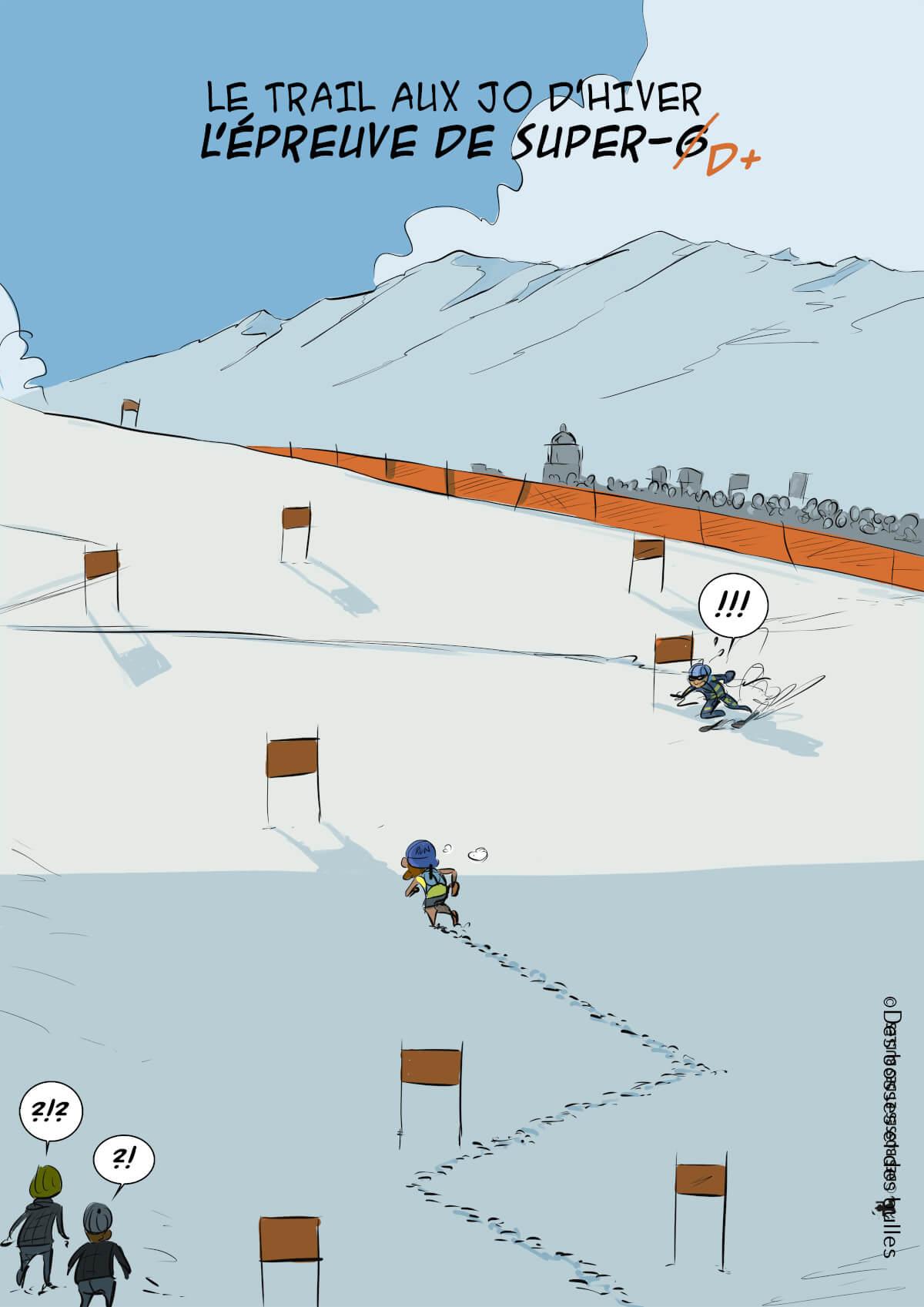 des bosses et des bulles - Le Trail aux JO d'hiver
