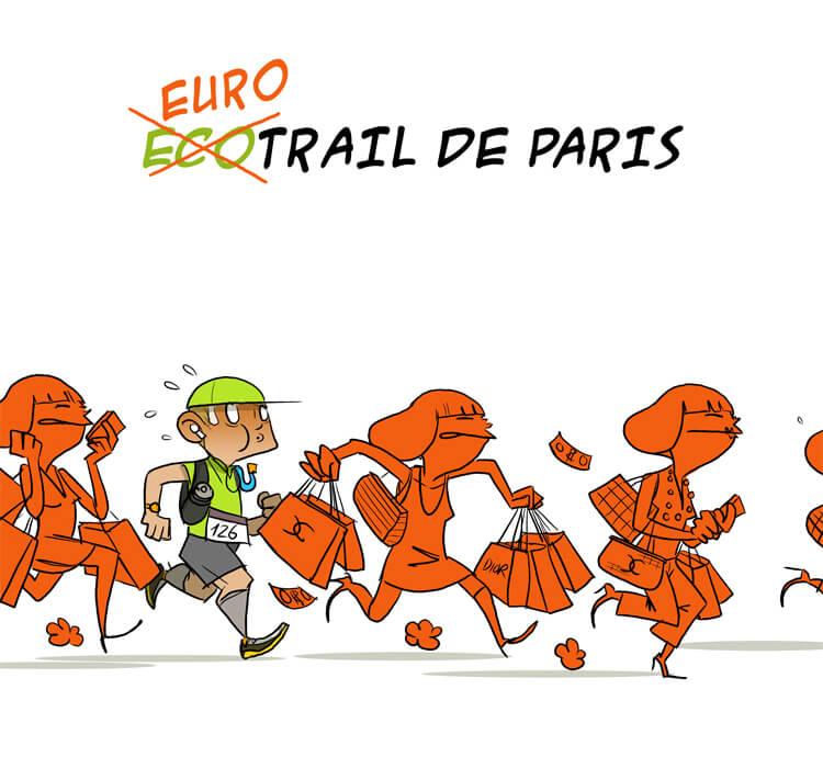 des bosses et des bulles - Ecotrail de Paris 2013