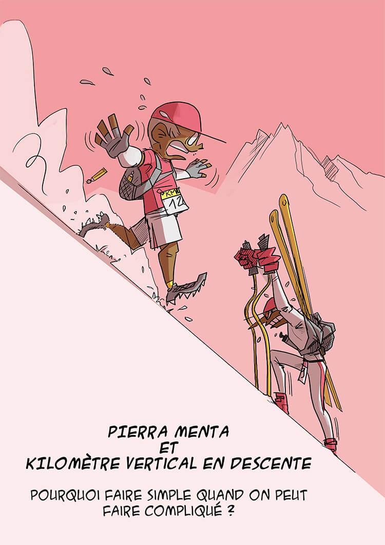 des bosses et des bulles - KMV vs Pierra Menta