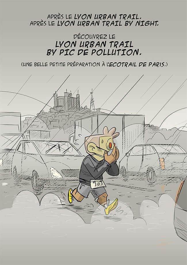 des bosses et des bulles - Lyon Urban Trail Night Fever