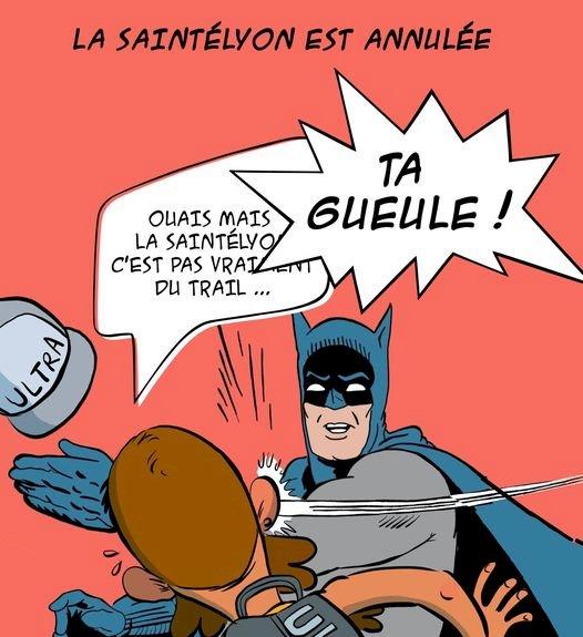 des bosses et des bulles - Annulation de la SaintéLyon 2020