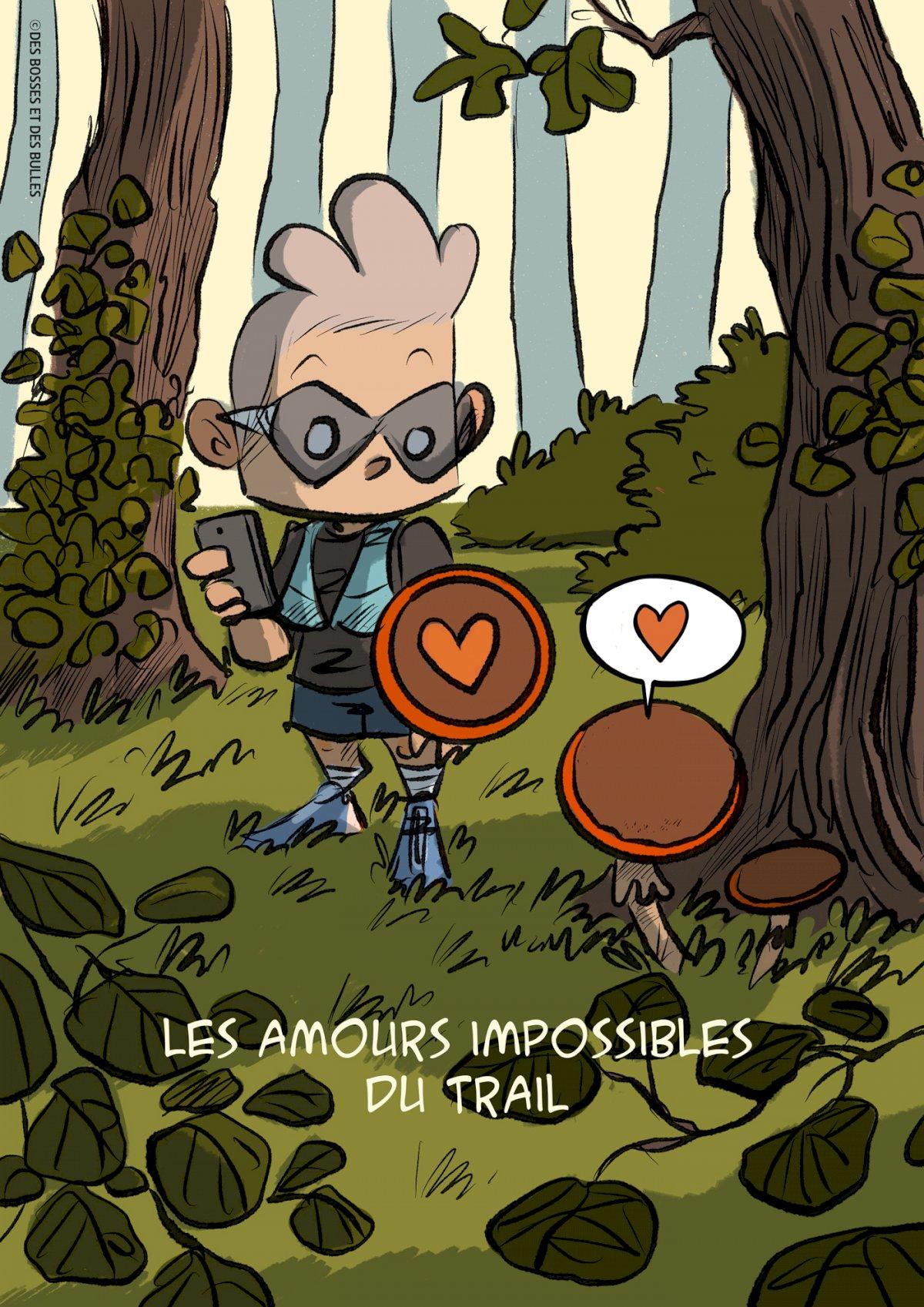 des bosses et des bulles - La rencontre amoureuse d'une suunto et d'un champignon