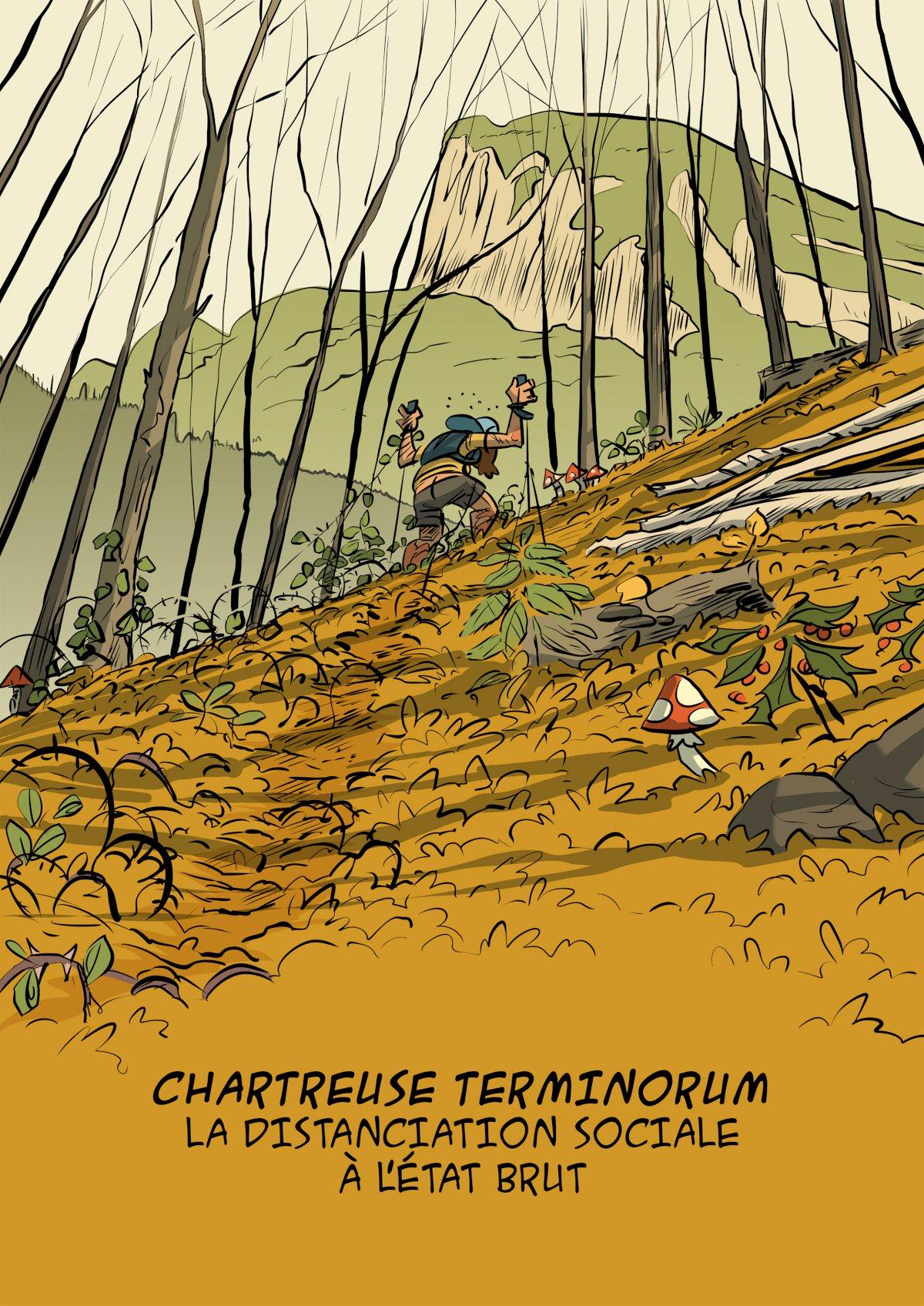 des bosses et des bulles - Trail en Chartreuse