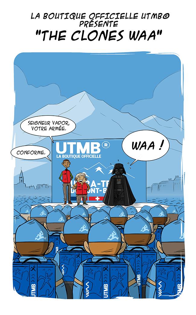 des bosses et des bulles - [SPOILER] L'UTMB® partenaire de Star Wars 7 ?