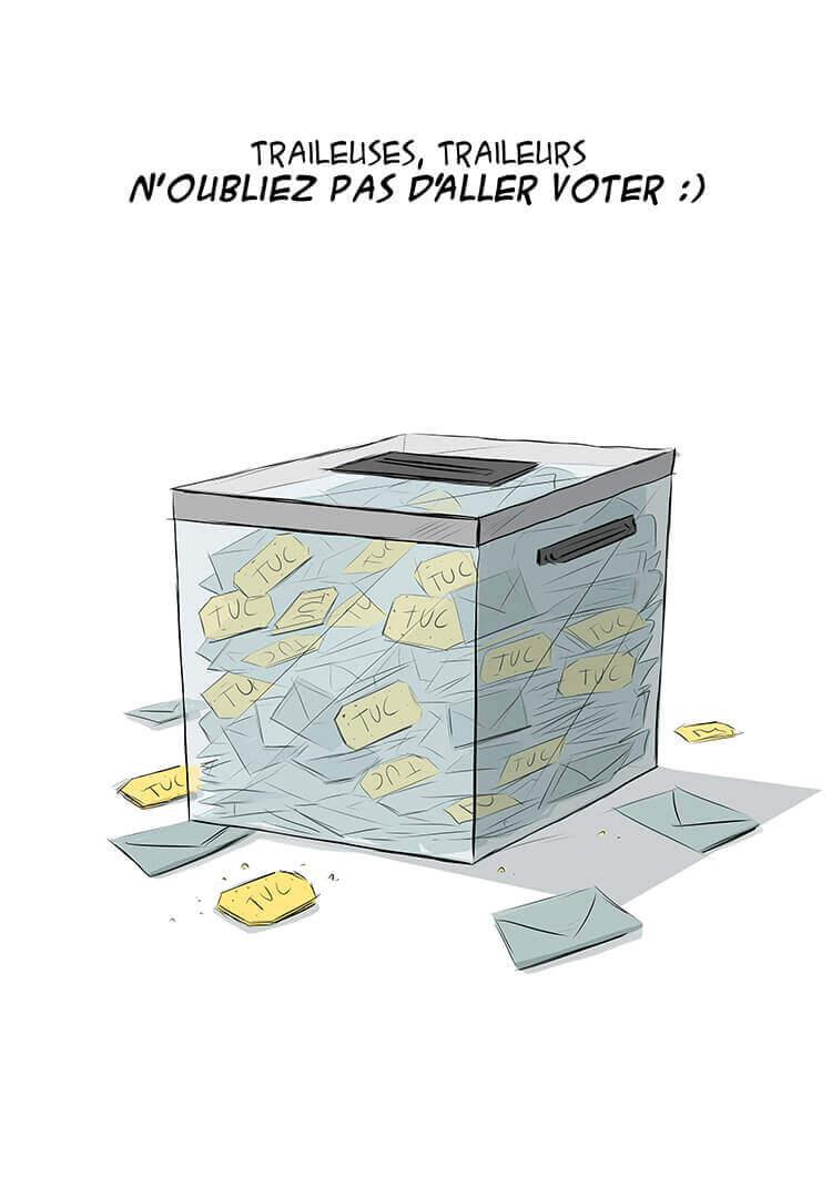 des bosses et des bulles - Elections municipales 2014, deuxième boucle.