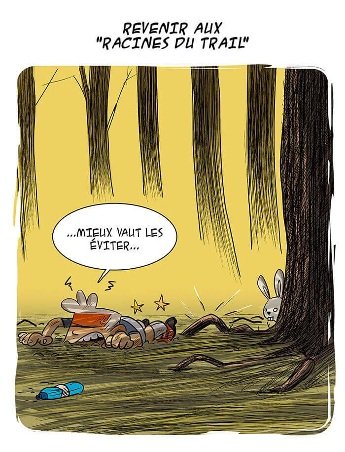 des bosses et des bulles - Les racines du Trail