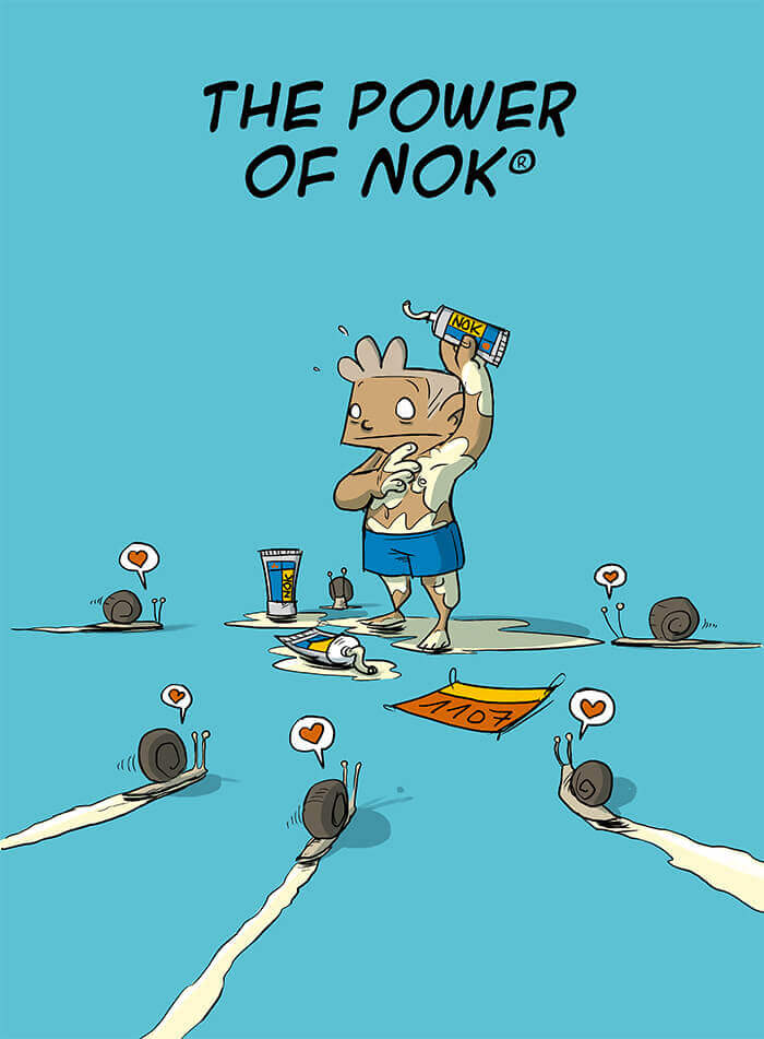 des bosses et des bulles - The power of Nok®