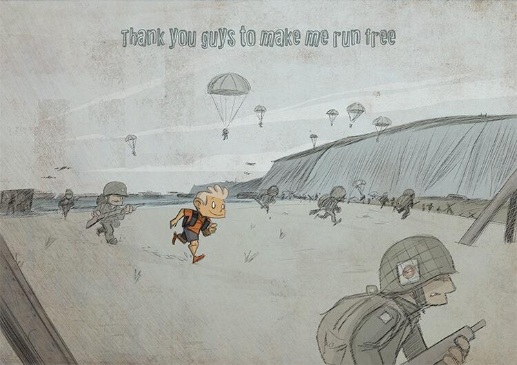 des bosses et des bulles - D-Day