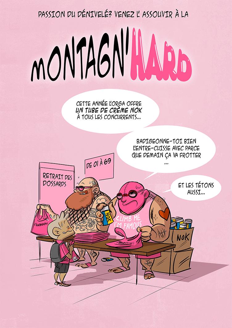 des bosses et des bulles - Ce week-end c'est la Montagn'Hard !