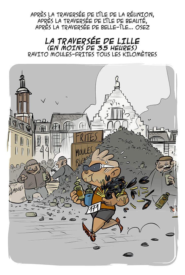 des bosses et des bulles - Un nouveau trail en France